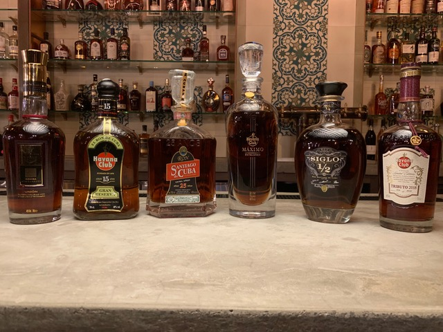 Top Shelf Cuban Rums